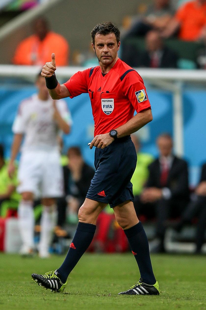 Kim jest sędzia, który poprowadzi mecz Polaków i Niemców?