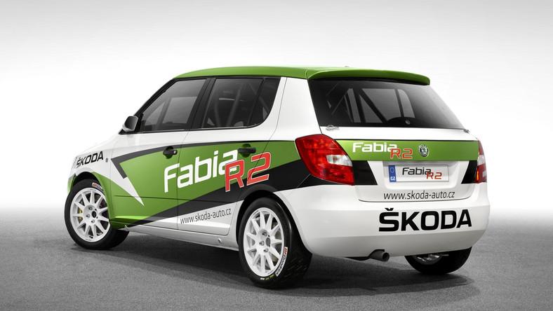 Nowa rajdowa Skoda - Fabia R2