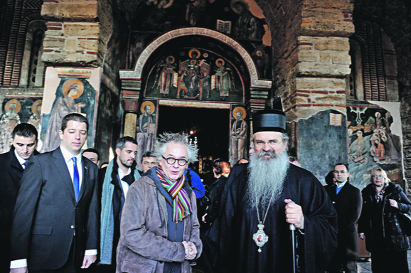 Marko Đurić , Ivan Tasovac i vladika raško-prizrenski Teodosije