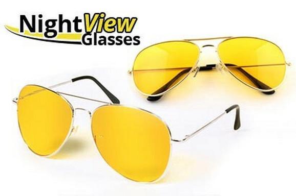 Naočare specijalizovane za vožnju noću