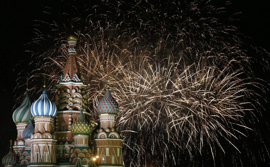 RUSSIA NEW YEAR CELEBRATIONS