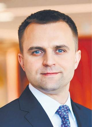 Przemysław Paprotny partner PwC, lider usług dla sektora finansowego