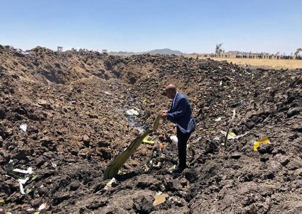 Etiopia - katastrofa lotnicza