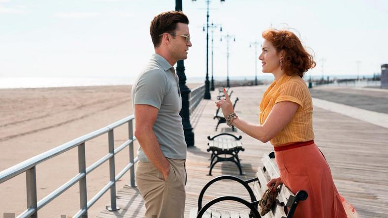 """Justin Timberlake i Kate Winslet w filmie """"Na karuzeli życia"""". Reżyseria: Woody Allen; polska premiera 1 grudnia 2017"""