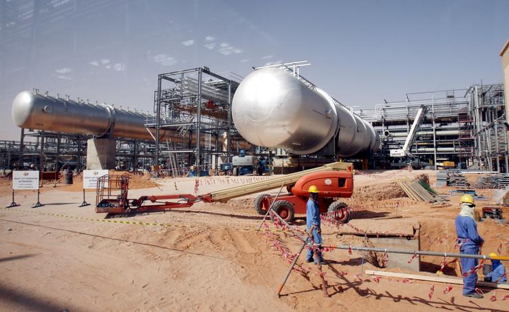 naftno postrojenje Saudijska Arabija