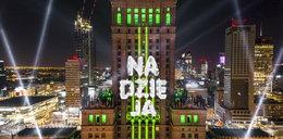 Sylwestrowy pokaz świateł w Warszawie. ZDJĘCIA