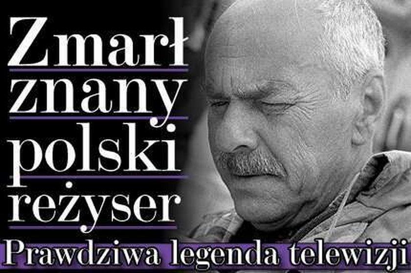 Zmarł znany polski reżyser. Prawdziwa legenda telewizji