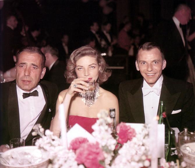Loren sa Bogartom i Sinatrom