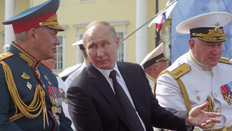 Putin w Petersburgu