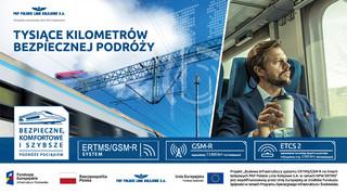 Tysiące kilometrów bezpiecznych podroży pociągiem. Kolej z łącznością GSM-R