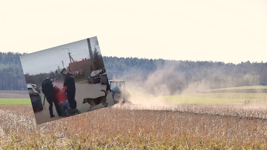 Zatrzymanie rolnika