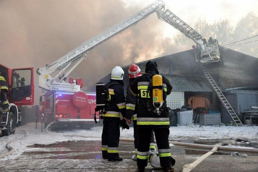Pożar w Markowej