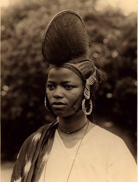 Fulani traditional hairstyle [Pinterest]