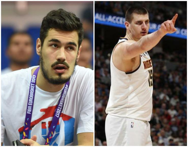 Nikola Jokić i Nikola Kalinić