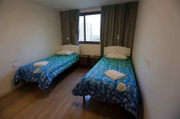Sobe u olimpijskom selu u Riju