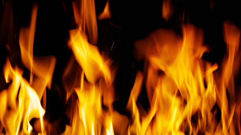 ogień, pożar