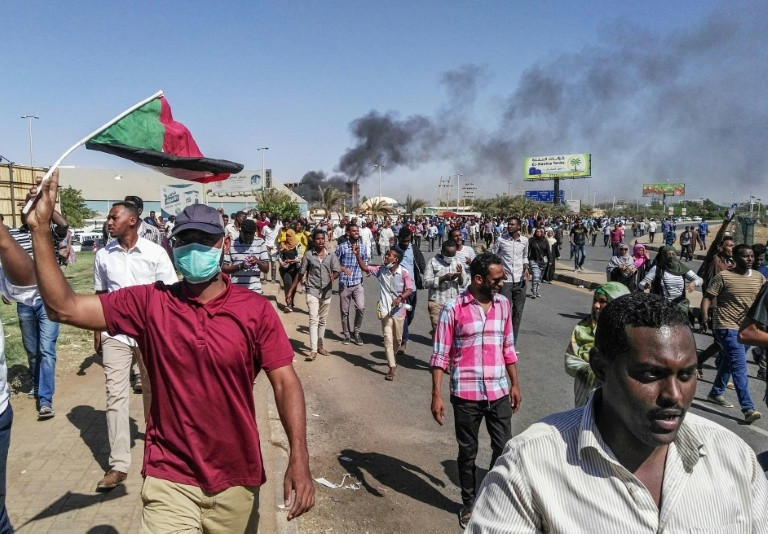 Since the protests erupted in Sudan late last year, security agents and riot police have cracked down on demonstrators but the army has not intervened