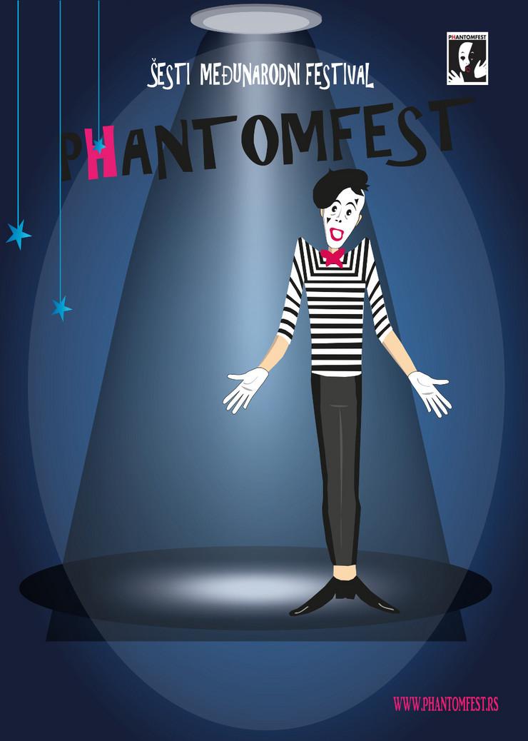 Plakat_6. Medjunarodni festival pantomime – P(h)antomfest_