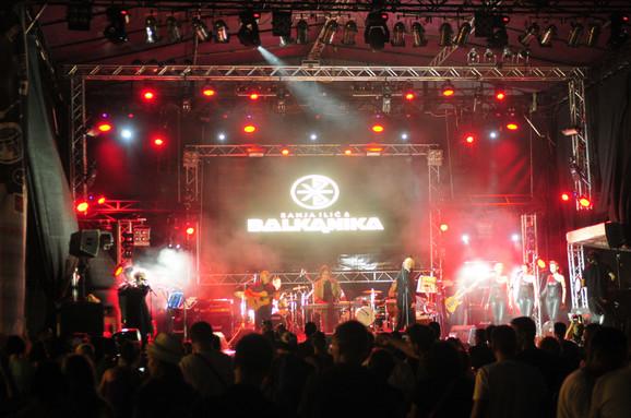 Egzit 2016 Sanja Ilić i Balkanika Fusion stage by Blic