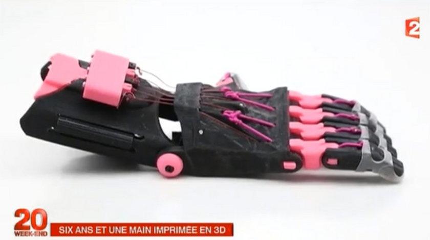 Dłoń wydrukowana w 3D