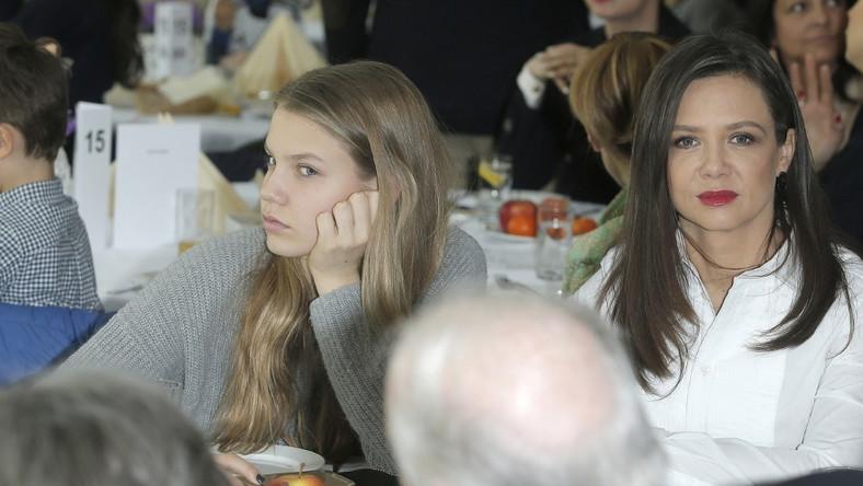 W miniony weekend dziennikarka zabrała córkę na wydarzenie ważne dla miłośników koni - Cavaliadę 2015...