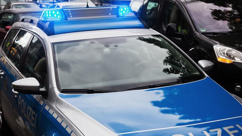 Radiowóz niemieckiej policji