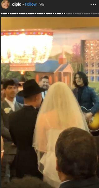 Sophie Turner and her lover, Joe Jonas have tied the knot in a surprise Las Vegas wedding [Instagram/Diplo]