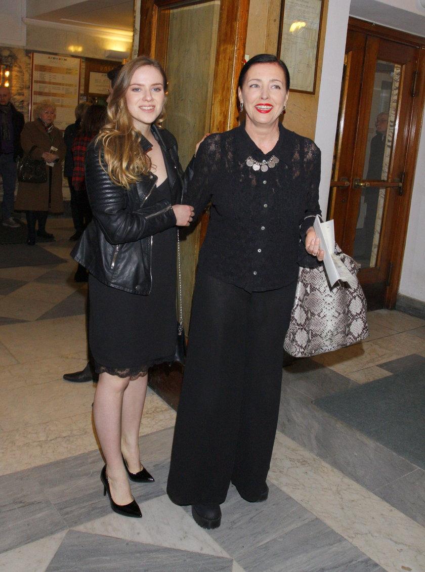 Ewa Telega z córką