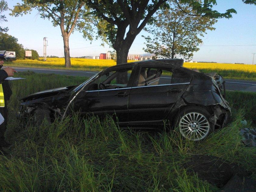Wypadek pod Nysą. 4 osoby ranne
