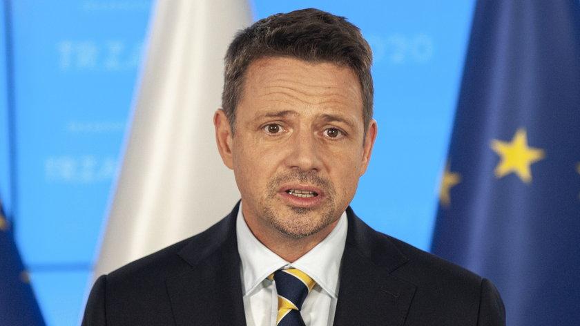 Rafał Trzaskowski skrytykował system szczepień.