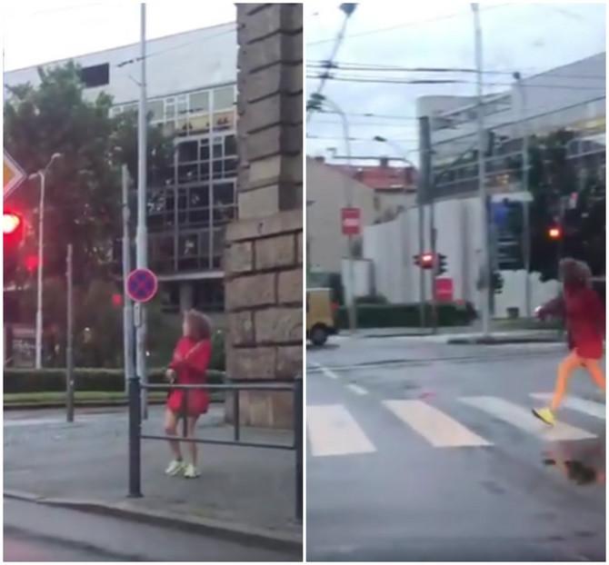 Snimak ove devojke obišao je Balkan