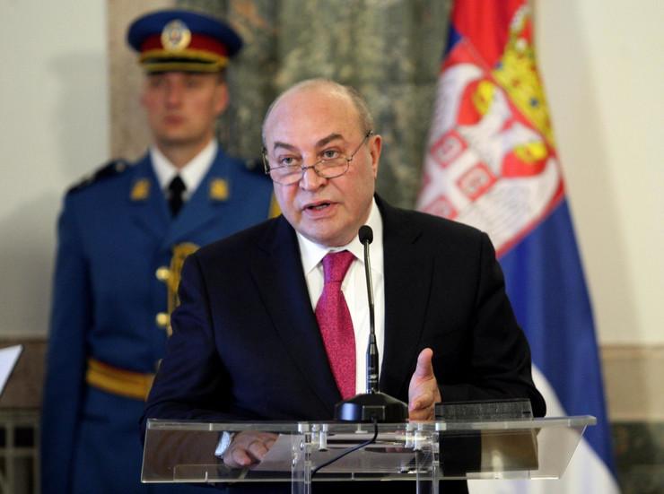 tomislav nikolic ordenje11 ambasador azerbejdzan eldar hasanov foto Tanjug S. Radovanovic