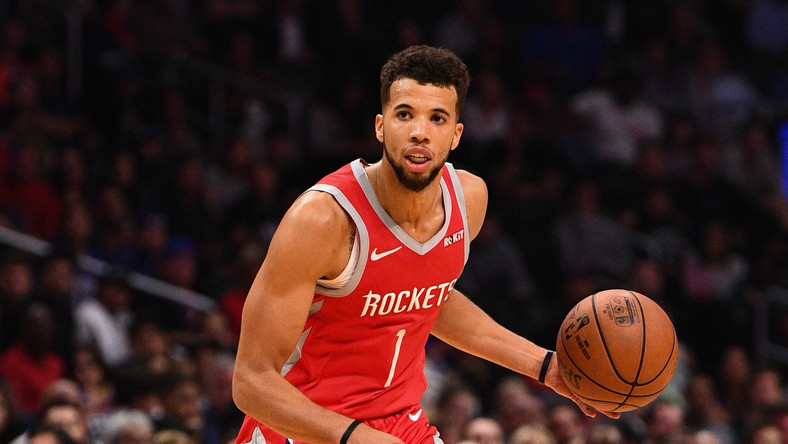NBA -  Houston Rockets przegrali z Washington Wizards