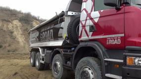 Scania G450 z polską wywrotką (Na Osi Ekstra)