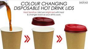 Inteligentna pokrywka zapobiegnie poparzeniu kawą