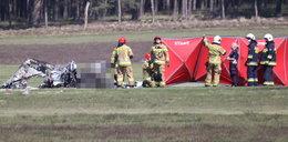 Katastrofa samolotu w Zielonej Górze. Nieoficjalnie, zginął jeden z najbogatszych Polaków