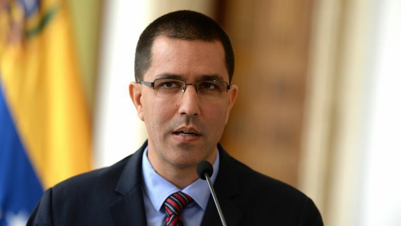Minister spraw zagranicznych Wenezueli Jorge Arreaza