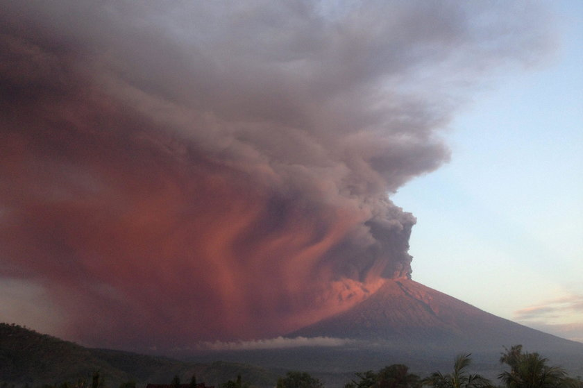 Wulkan Agung na Bali