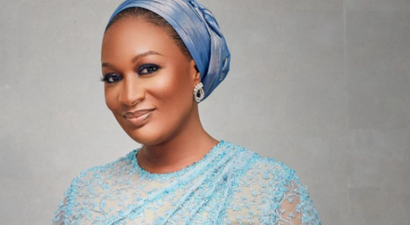 Blue with envy! Samira Bawumia brightens our feed in stunning blue ensemble