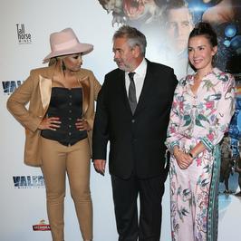 """Gwiazdy na premierze filmu """"Valerian..."""". Pojawił się też reżyser Luc Besson"""