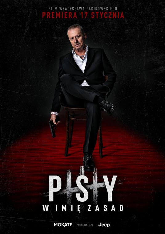 """Plakat do filmu """"Psy 3. W imię zasad"""""""