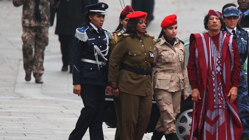 Muammar Kaddafi i kobiety