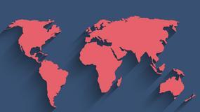 Interaktywna mapa wulkanów i trzęsień ziemi