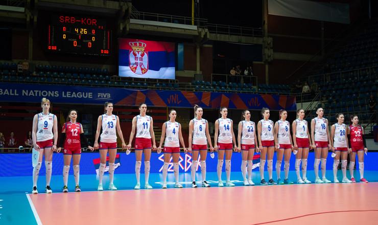 Ženska odbojkaška reprezentacija Srbije 1