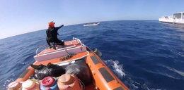 Ludzki dramat na morzu. Te sceny przerażają