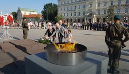 Lublin uczcił 73. rocznicę wybuchu PW