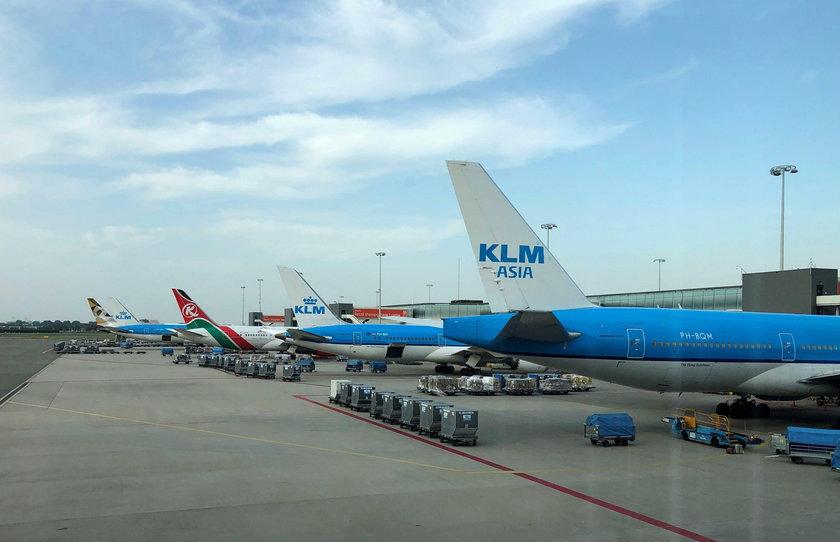 Holandia. Alarm na lotnisku w Amsterdamie. Uprowadzono samolot?