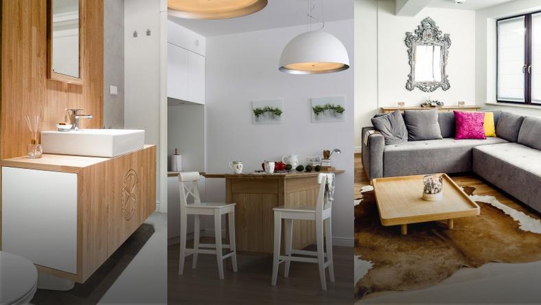 Znane Zakopiańskie mieszkanie urządzone w bieli i z góralskim pazurem - Dom IP-65