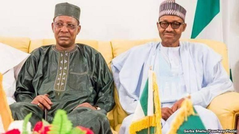 BREAKING: President Buhari and Chadian President meeting In Aso Rock
