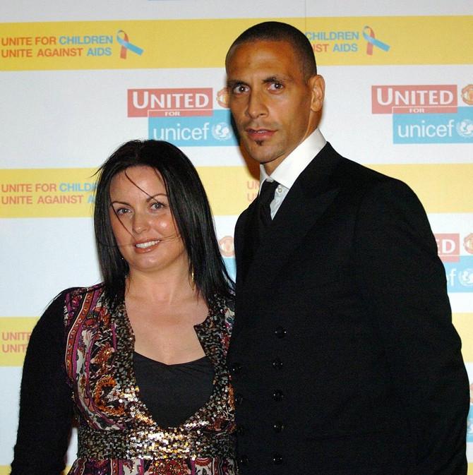 Rio sa prvom suprugom Rebekom